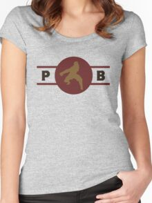 Boarcupines Pro-Bending League Gear Women's Fitted Scoop T-Shirt