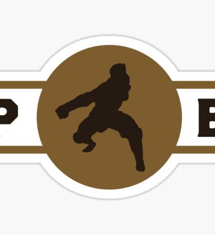 Boarcupines Pro-Bending League Gear (Alternate) Sticker