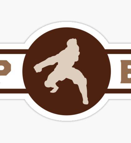 Buzzard Wasps Pro-Bending League Gear Sticker
