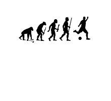 Evolution of Man to Soccer by DesignMC