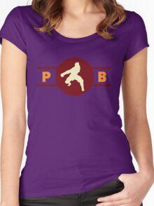 Cat Gators Pro-Bending League Gear Women's Fitted Scoop T-Shirt