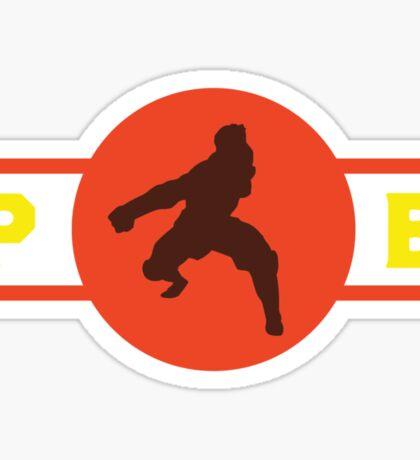 Fire Ferrets Pro-Bending League Gear Sticker