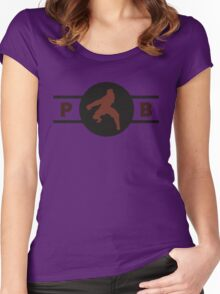 Hog Monkeys Pro-Bending League Gear Women's Fitted Scoop T-Shirt