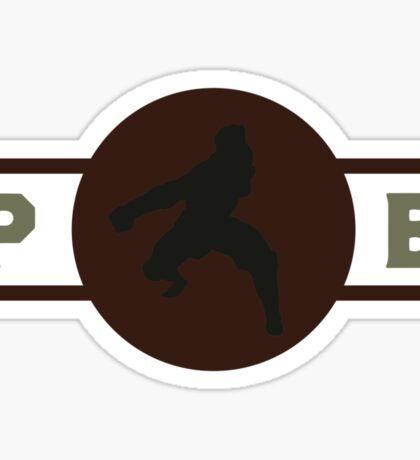Hog Monkeys Pro-Bending League Gear (Alternate) Sticker