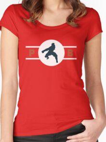 Komodo Rhinos Pro-Bending League Gear Women's Fitted Scoop T-Shirt