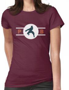 Komodo Rhinos Pro-Bending League Gear Womens Fitted T-Shirt