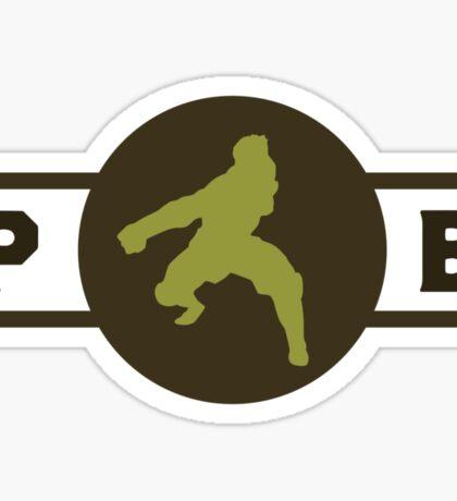 Mongoose Lizards Pro-Bending League Gear Sticker