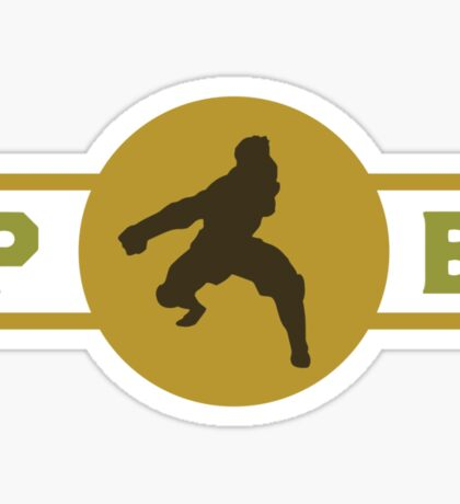 Mongoose Lizards Pro-Bending League Gear (Alternate) Sticker