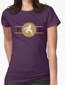 Moose Lions Pro-Bending League Gear Womens Fitted T-Shirt
