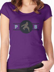 Platypus Bears Pro-Bending League Gear Women's Fitted Scoop T-Shirt