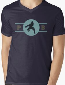 Platypus Bears Pro-Bending League Gear (Alternate) Mens V-Neck T-Shirt