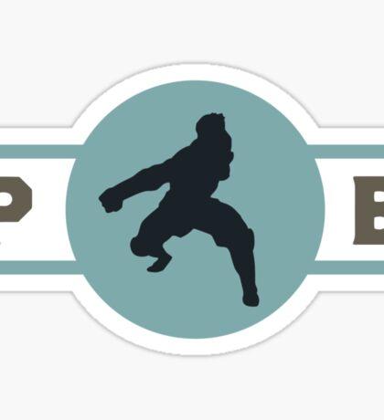 Platypus Bears Pro-Bending League Gear (Alternate) Sticker