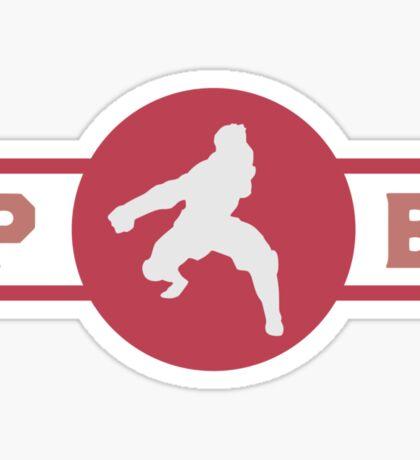 Rabaroos Pro-Bending League Gear Sticker