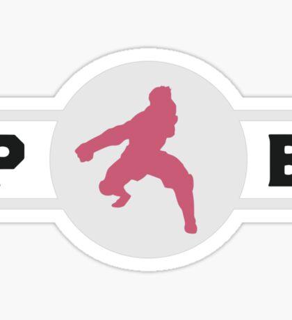 Rabaroos Pro-Bending League Gear (Alternate) Sticker