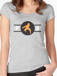 Tigerdillos Pro-Bending League Gear Women's Fitted Scoop T-Shirt