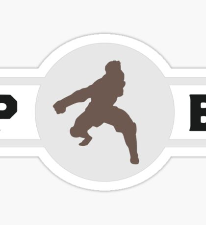 Tigerdillos Pro-Bending League Gear (Alternate) Sticker