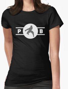 Zebra Frogs Pro-Bending League Gear Womens Fitted T-Shirt