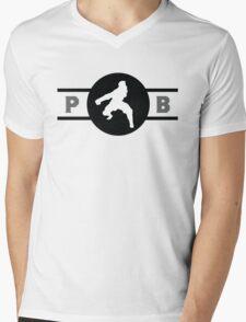 Zebra Frogs Pro-Bending League Gear (Alternate) Mens V-Neck T-Shirt
