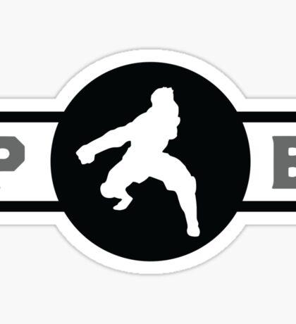 Zebra Frogs Pro-Bending League Gear (Alternate) Sticker
