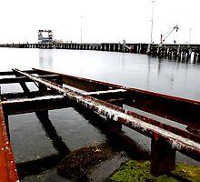 Kingscote Dock by Stephen Mitchell