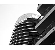 Building Designed by Davros Photographic Print