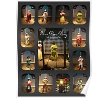 Eleven Pipers Piping Poster