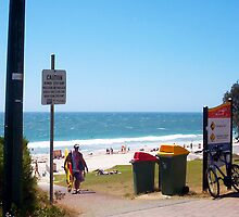 Suburban Beach Colours Of Western Australia by Robert Phillips