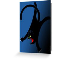 NINJA CAT 2 Greeting Card