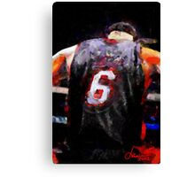 The Basketball Player Canvas Print