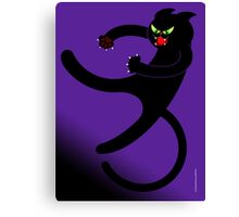 NINJA CAT 3 Canvas Print