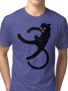 NINJA CAT 3 Tri-blend T-Shirt