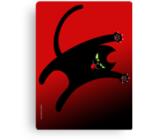 NINJA CAT 1 Canvas Print