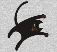 NINJA CAT 1 One Piece - Long Sleeve