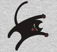 NINJA CAT 1 Baby Tee