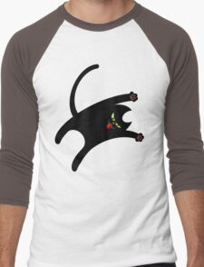 NINJA CAT 1 Men's Baseball ¾ T-Shirt