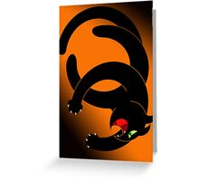 NINJA CAT 4 Greeting Card