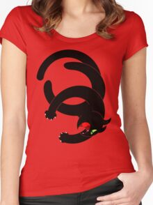 NINJA CAT 4 Women's Fitted Scoop T-Shirt