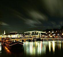 "Amsterdam bridge ""De magere brug""  by Alessiocorner"