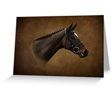 Thoroughbred Greeting Card