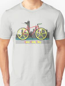Love New York, Love to Cycle Unisex T-Shirt