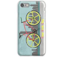 Love New York, Love to Cycle iPhone Case/Skin