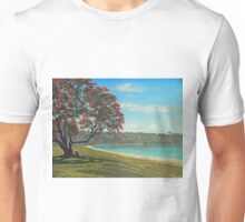 Pohutukawa - New Zealand Christmas Tree Unisex T-Shirt
