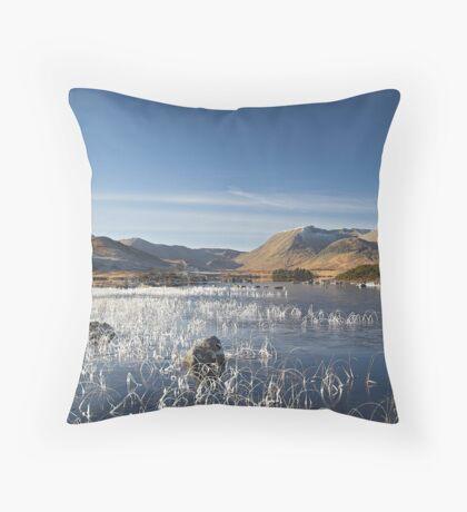 Scotland - Rannoch Moor Throw Pillow