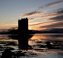 Scotland - Castle Stalker by warbirds