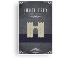 House Frey Canvas Print