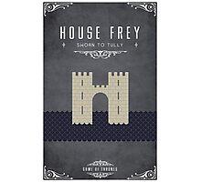 House Frey Photographic Print