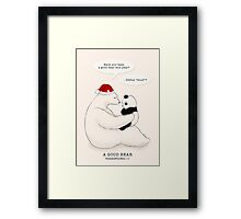 A Good Bear Framed Print