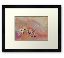 Can't Run Away Framed Print