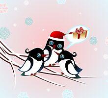 Winter Birds Christmas Wish - Cute Case by ruxique