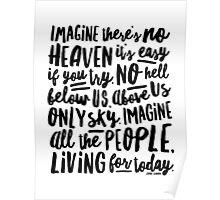 Imagine - Part I - Imagine There's No Heaven Poster